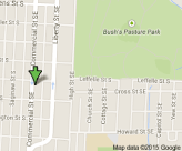 Map of Fairmount Dental Center - Salem Dentist